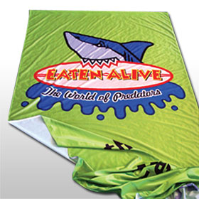 Printed fabric banner from Wild Digital