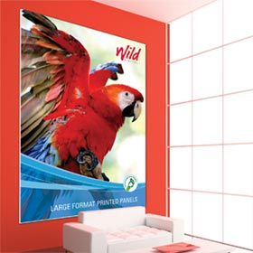 Printed foamex wall panel from Wild Digital