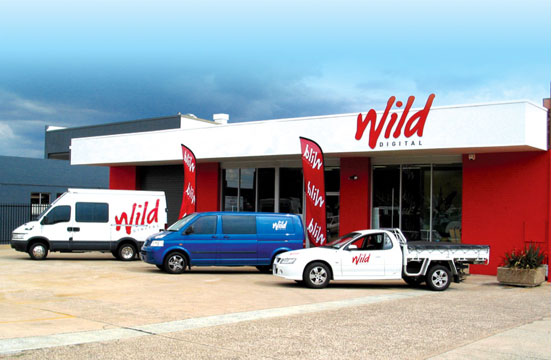 Wild Digital's premises in Wollongong St, Fyshwick