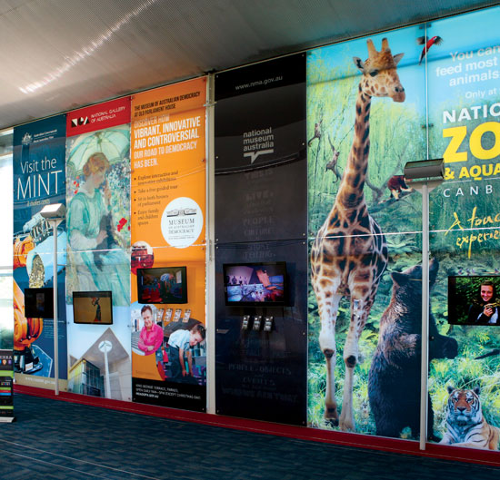 Extra large printed acrylic wall panels from Wild Digital.