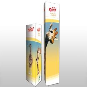 Corflute Columns from Wild Digital