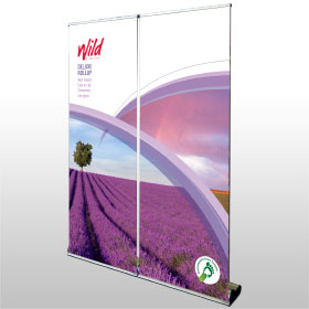 Deluxe Rollup banner from Wild Digital