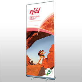 Entry-level Rollup banner from Wild Digital