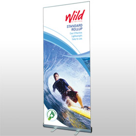 Standard Rollup banner from Wild Digital
